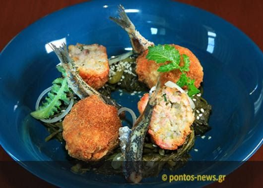 Χαψοπίλαφο... κροκέτες (Φωτ.: Κώστας Κατσίγιαννης) Ο νεαρός σεφ Σάββας Καρίπογλου «πειραματίζεται» με την ποντιακή κουζίνα και δημιουργεί π...