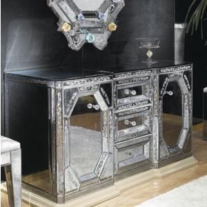 Cupboard   Venetian Style Of The XVIII Century. Glass FurnitureAntique  FurnitureMurano ...