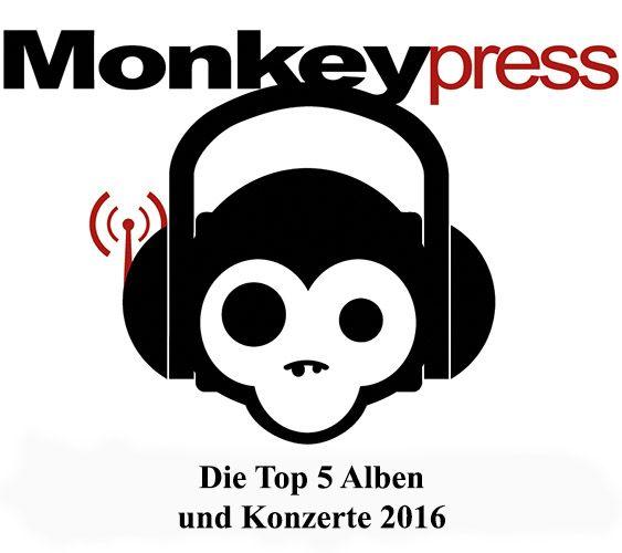 Die persönlichen Top 5 Alben & Konzerte 2016 des Monkeypress.de-Teams [Specials]  Monkeypress.de