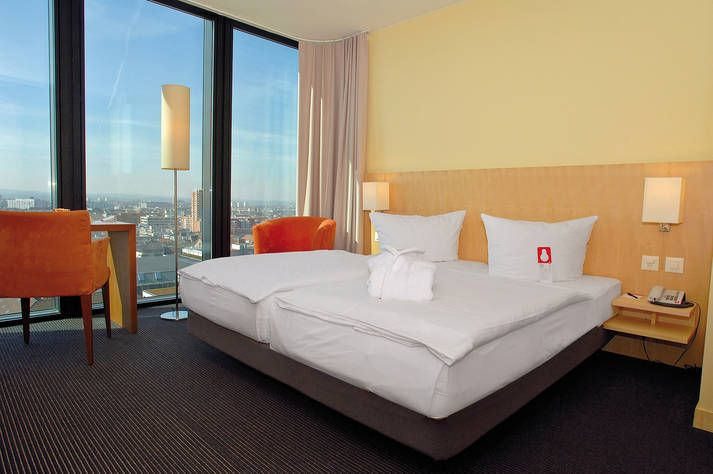 Superior Zimmer im Hyperion Hotel Basel
