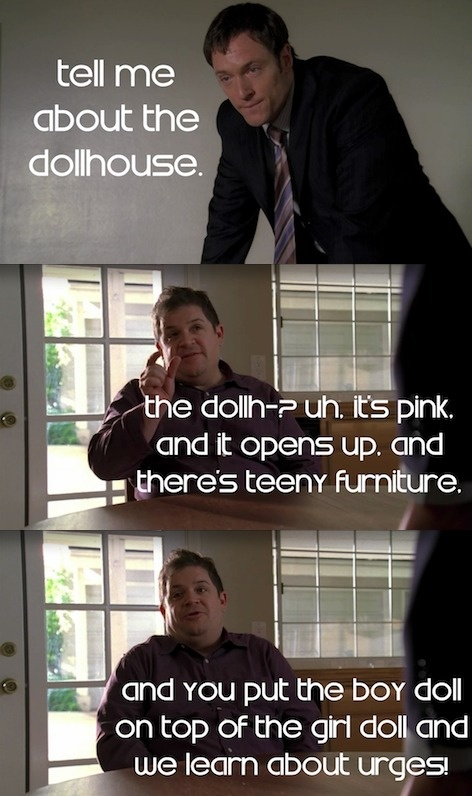 Patton Oswalt makes an appearance with the character Paul Ballard in Joss Whedon's FOX TV show Dollhouse.