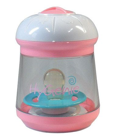 Take a look at this Pink Portable Sanitizer by Hygenie on #zulily today!