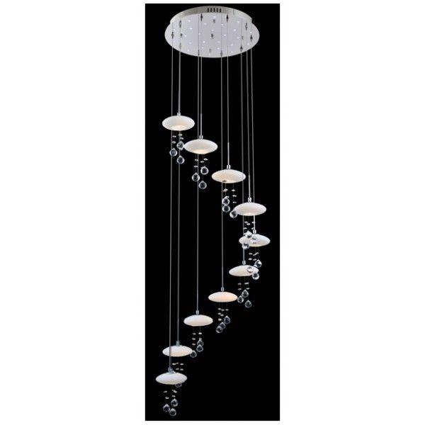 Oświetlenie wewnętrzne :: Lampy wiszące :: Żyrandol Obsession 4770/10 Eurostar - Magia Świateł