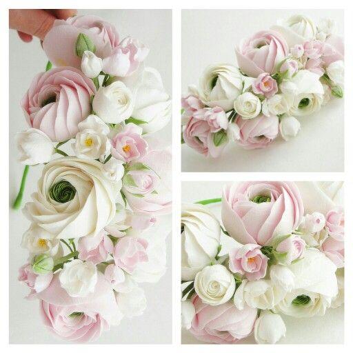 white bridal flower crown, wedding hair accessories, wedding flower wreath, rustic wedding, bridal hair flower, wedding headpiece,wedding