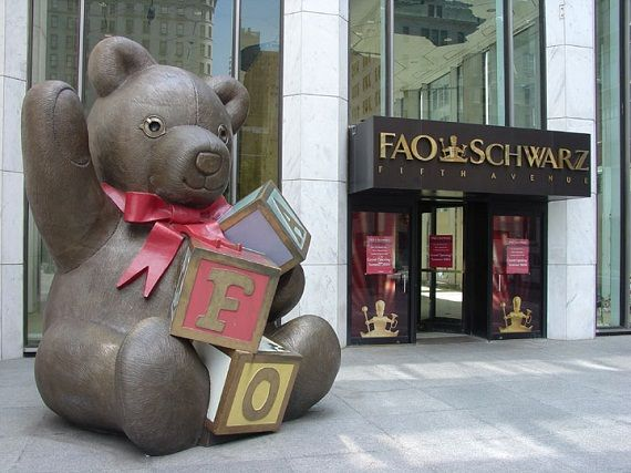 Best Places to Visit in New York with Children. FAO Swartz massive toy store worth taking the kids.