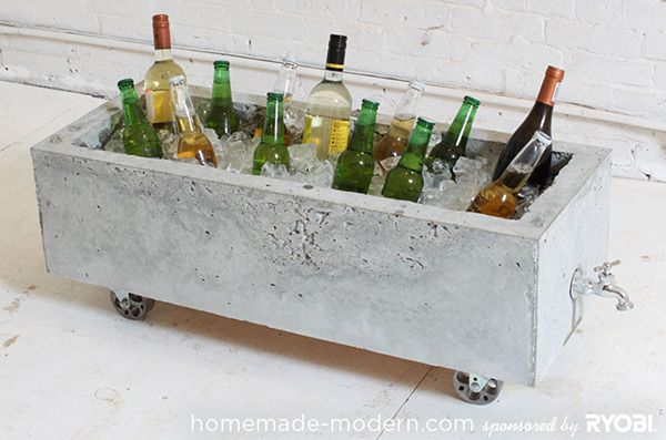 Trend: Concrete Im in LOVE with the recent concrete trend. Need a stool? Concrete. Planter? Concrete. Handmade light? Concrete. There are so many wonderful DIYs out there to share, but here are my favorites. Enjoy! Concrete cooler/planter from Homemade-Modern.  Concrete planter from Camille Styles.  Concrete honey bear from the paper mama.  [...]