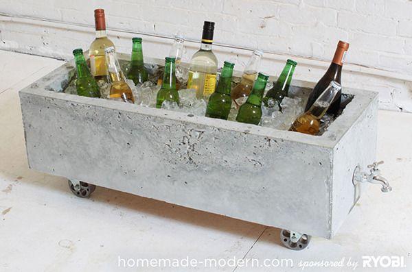How To: Make a Modern, Trough-Style Concrete Planter » Curbly | DIY Design Community