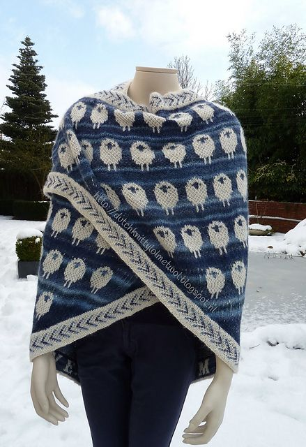 Ravelry: Dutchknitty's Sheeplove in blues