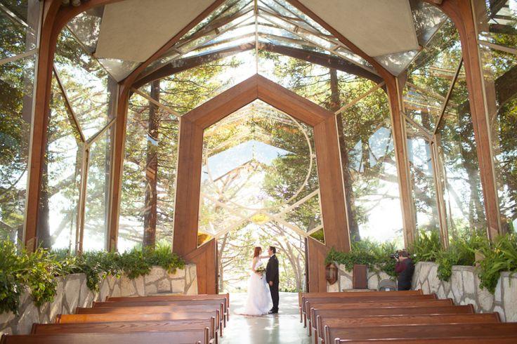 Art Deco Lloyd Wrights Wayfarers Chapel - Los Angeles, CA wedding location ideas