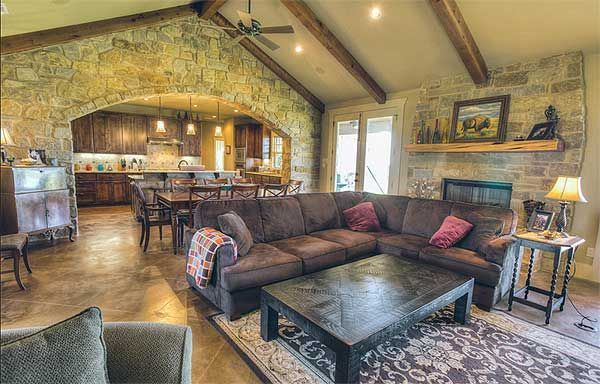 39 best texas hill country living images on pinterest for Hill country flooring