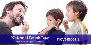 National Brush Day November 1
