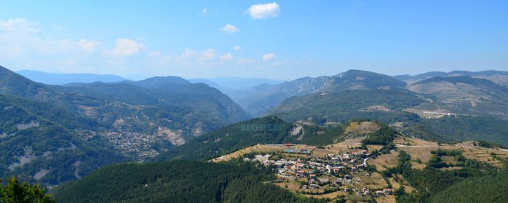 A view from Belintash, Rhodope Mountains, Bulgaria