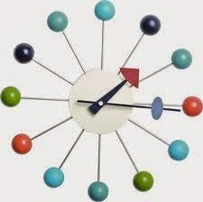 Nelson wall clock ideal for kid's room