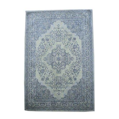 Bij dit trendy karpet is gekeken naar de originele medaillon karpetten.  Dit patroon is in een nieuw en hip jasje gestoken.  Het materiaal dat gebruikt is 100% katoen   Dit karpet is volledig met de hand gemaakt in india.  Een
