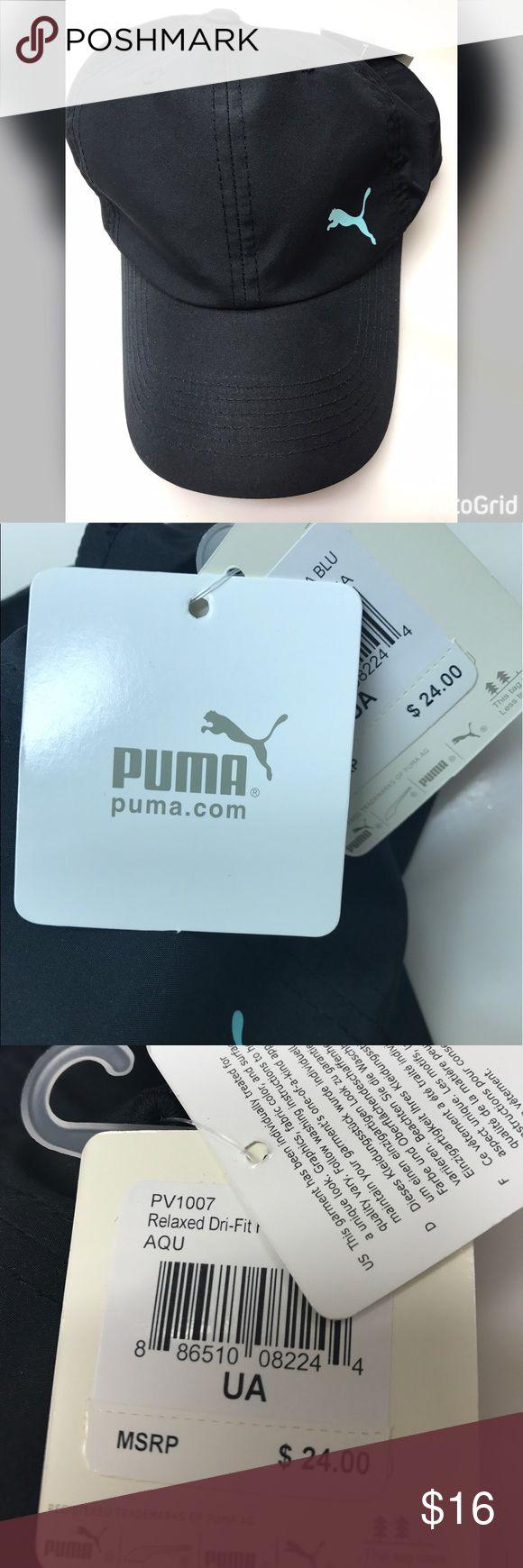 PUMA baseball cap with light blue puma emblem New with tags Puma Accessories Hats