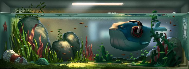 A big fish in a little tank... by cloudintrousers.deviantart.com on @DeviantArt
