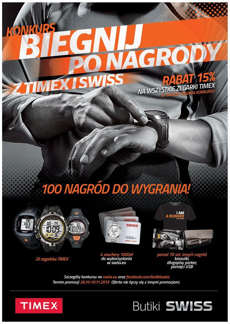 Nagrody z Timex i Swiss czekają :).