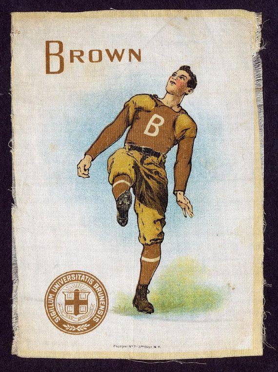C. 1910 Large Murad Tobacco Silk, Brown University, Football