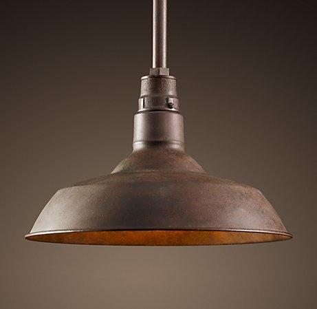 Vintage Multilevel Kitchen Light