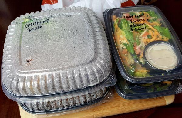 Applebee's Low Carb Dinner 2-for-$20 Menu