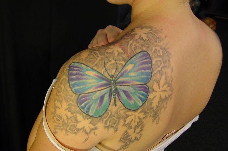 25 best ivy leaf shoulder tattoo images on pinterest arm for Poison ivy vine tattoos