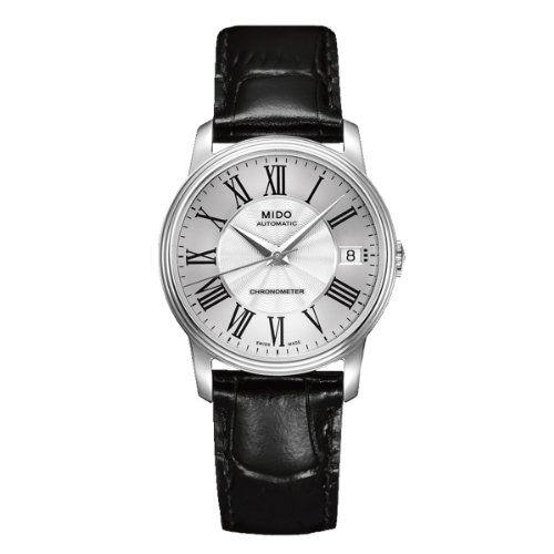 Mido Damen-Armbanduhr XS Baroncelli Analog Automatik Leder M0102081603320 - http://uhr.haus/mido/mido-damen-armbanduhr-xs-baroncelli-analog-leder