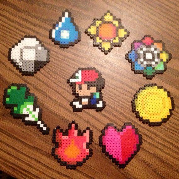 Original Pokemon Trainer & Gym Badges by DailyDoseOfNerdiness