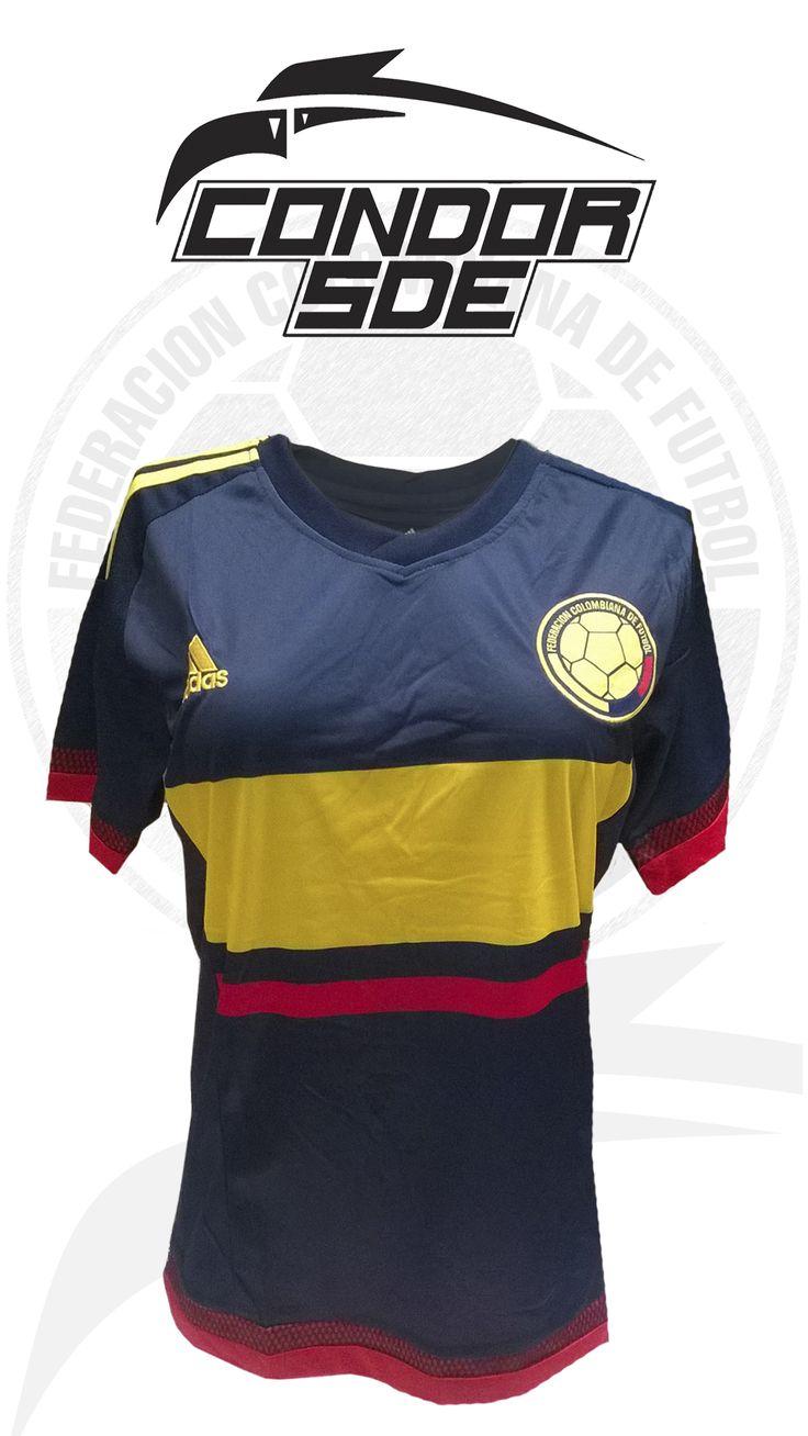 No tienes la camisa de selección Colombia para dama, hombre y niño solicita la tuya. Envió a domicilio. #cóndorsde #seleccióncolombia #rusia2018