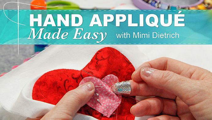 Learn fundamental hand applique techniques, and have fun creating projects that light up any room with playful, colorful imagery! - via @Craftsy