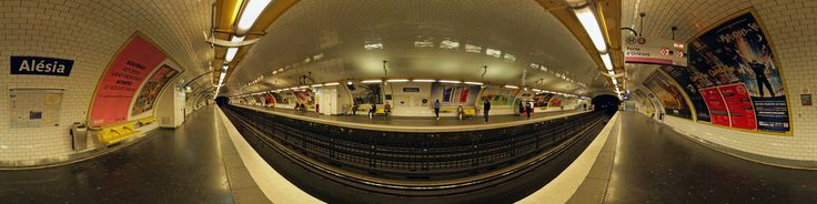 Alésia (Paris Métro) Alésia is a station of the Paris Métro on line 4 in the 14th arrondissement. The line 4 platforms were opened on 30 October 1909 when the southern section of the line opened between Raspail and Porte d'Orléans. The name refers to Rue d'Alésia, named for the Battle of Alesia between the Gauls of Vercingetorix and the Romans of Julius Caesar.Rue d'Alésia Rue d'Alésia is a major street in the south of Pari...