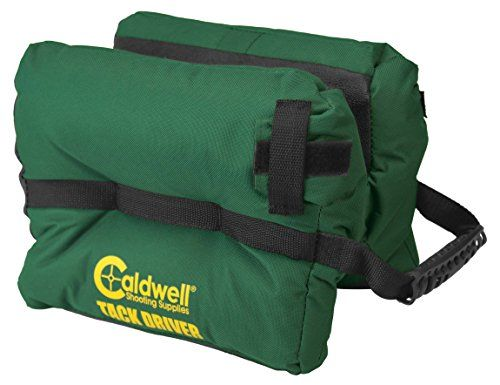 I just bought this and love it. Caldwell Tack Driver Filled Shooting Rest Bag . you can see what others said about it here https://www.amazon.com/Caldwell-Tack-Driver-Filled-Shooting/dp/B000BY9G5K%3FSubscriptionId%3DAKIAIDRVQGD77IOHEZXQ%26tag%3Dbridgerstore-20%26linkCode%3Dxm2%26camp%3D2025%26creative%3D165953%26creativeASIN%3DB000BY9G5K