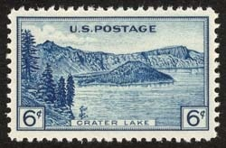 1934 6c Crater Lake National Park Scott 745 Mint F/VF NH  www.saratogatrading.com