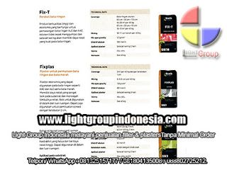 Light Group Indonesia: FILTER & PLASTERS