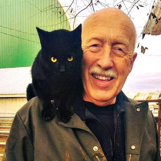 Dr Pol and Tater blackcats Animals in 2019 Cats The