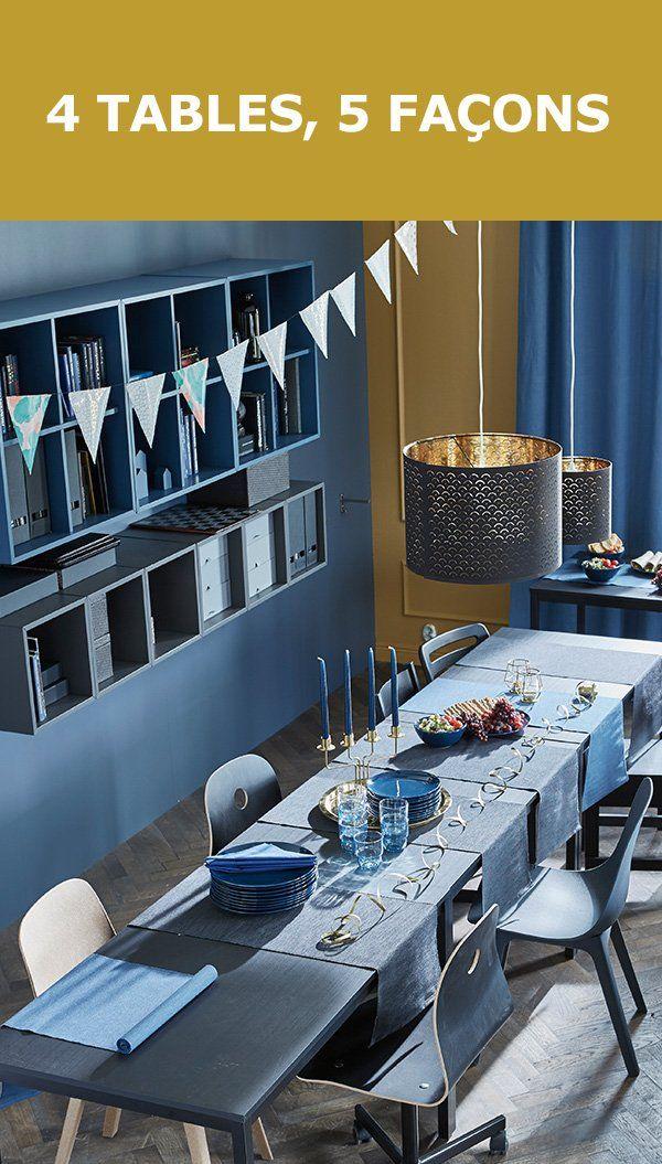 Le salon est le théâtre de tout plein d'événements et vos meubles doivent pouvoir s'adapter aux besoins de votre famille. Voici 5 façons d'aménager 4 tables pour vivre de beaux moments au salon.