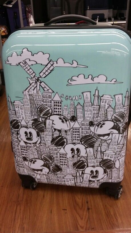 Mickey Mouse Luggage♡
