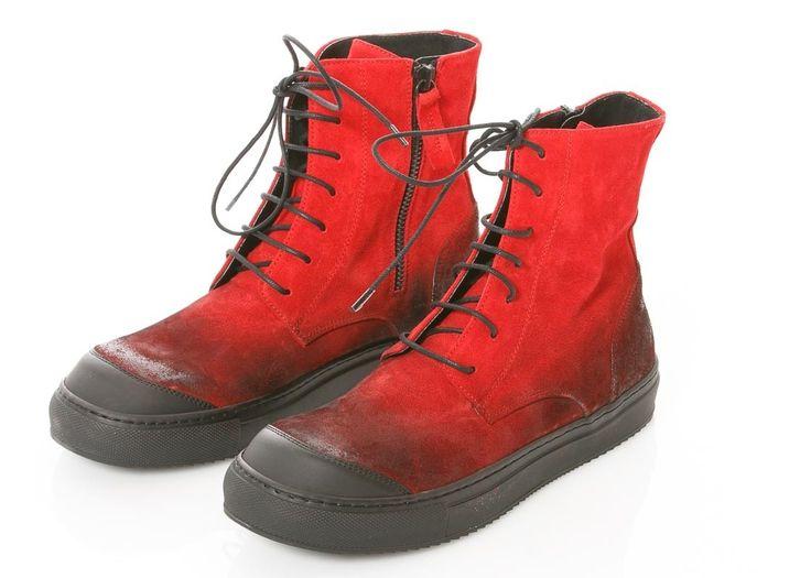Ideal Rote Schuhe von RUNDHOLZ BLACK LABEL
