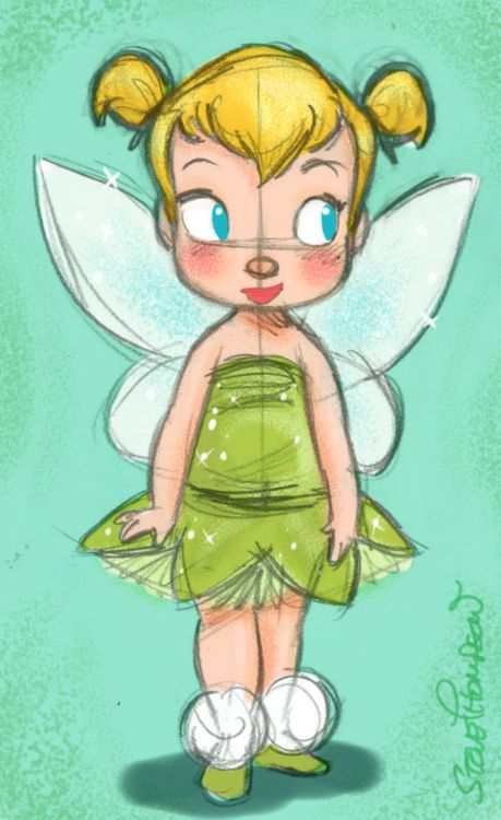 Steve Thompson ☆ Cute Baby Disney Tinkerbelle