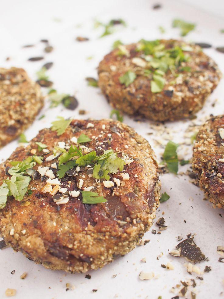 Potato & herbs burger / vegan