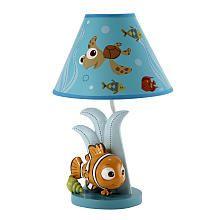 Disney Baby  Finding Nemo  Lamp  Base  Nemo Shaped Lamp.