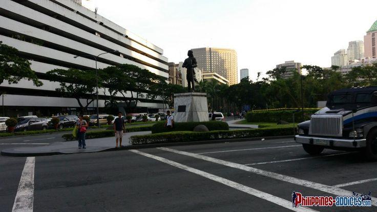 Manila Monument of Gabriel Silang #makiti #philippines