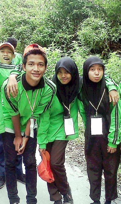 Gunung sibayak di Sibolangit, Sumatera Utara