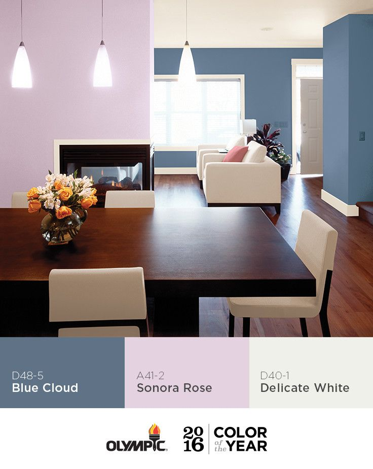 27 best images about olympic 2016 paint color of the year - Best soft pink paint color ...
