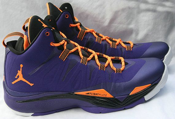 huge selection of a68e8 46a9a Jordan Super.Fly 2 599945 517 Purple Orange Black