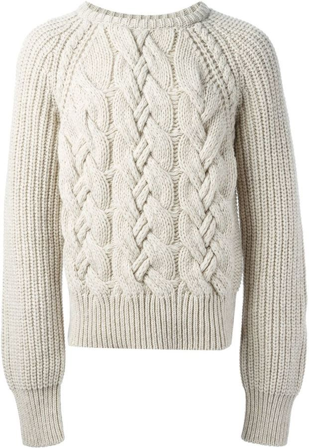 Cerruti Cable Knit Sweater. Buy for $751 at farfetch.com.