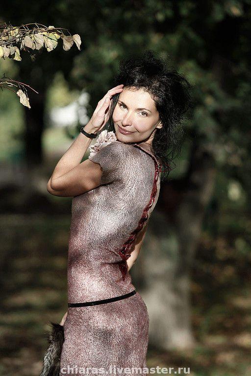"""Купить платье ручной работы """"розовый жемчуг"""" - платье авторское, Вечернее теплое платье"""