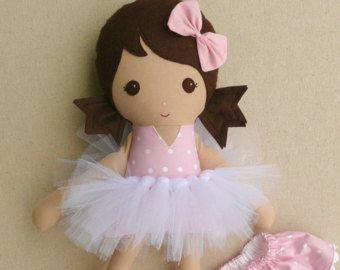 Riservati per Tiffany  Rag Doll tessuto bambola di rovingovine