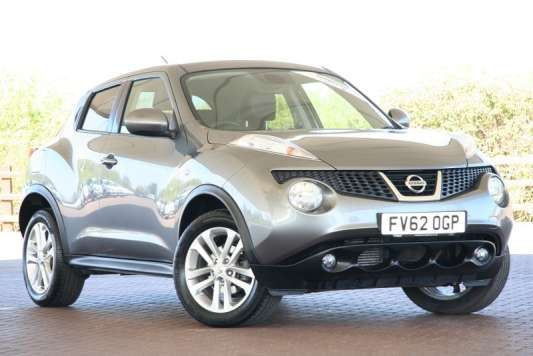 Used 2012 (62 reg) Grey Nissan Juke 1.5 dCi Tekna 5dr for sale on RAC Cars