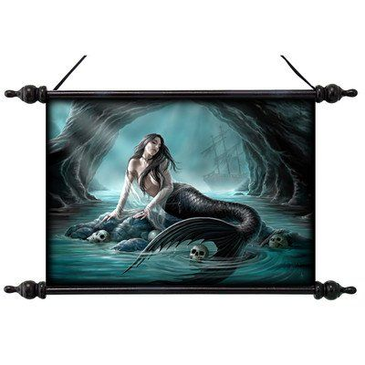 Design Toscano Sirens Lament Canvas Wall Scroll Tapestry ** Additional info…