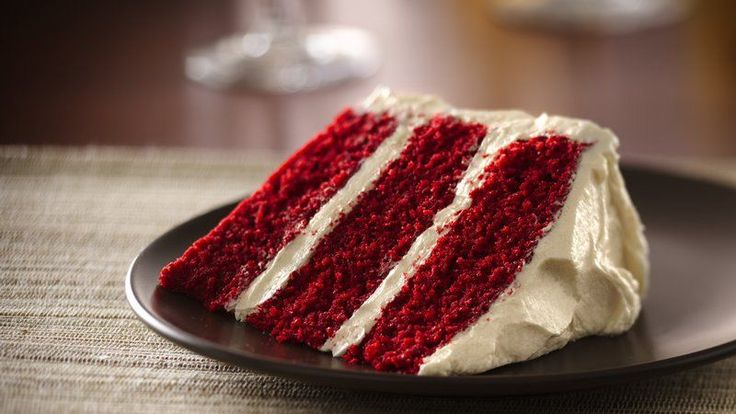 Image result for red velvet cake slice